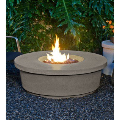 Contempo Round Fire Pit Table  by CGProducts