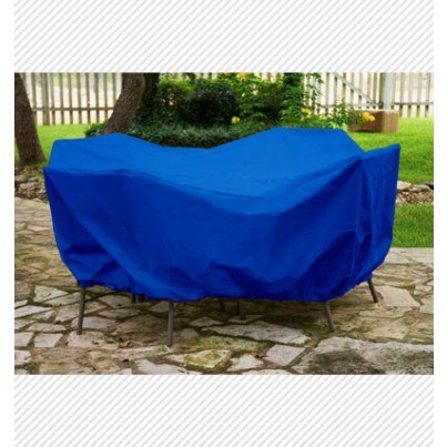 """Protective Weathermax™ 36"""" Round Table Dining Set Cover - Pacific Blue  by Koveroos"""