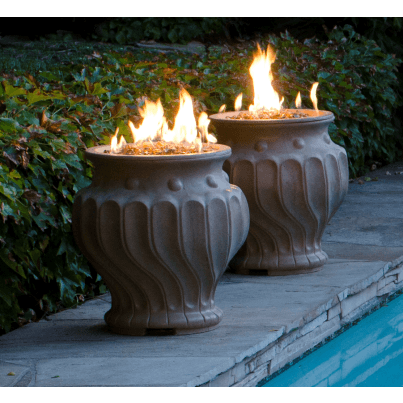 Etruscan Fire Urn  by CGProducts