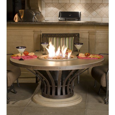 Fiesta Chat Height Fire Pit Table  by CGProducts