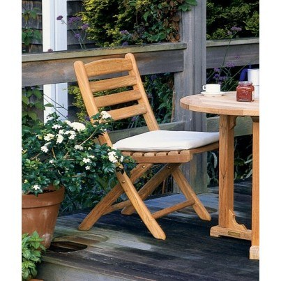 Kingsley Bate Gearhart Teak Folding Side Chair  by Kingsley Bate