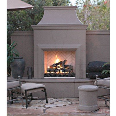 Grand Petite Cordova Fireplace  by CGProducts