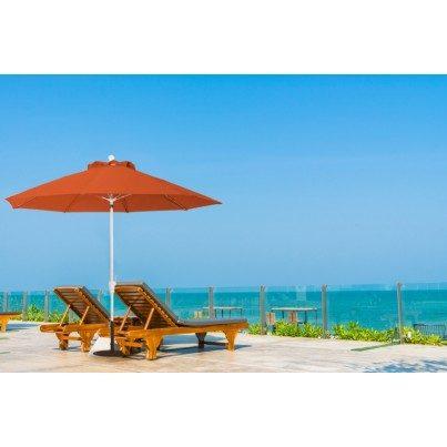 Luxe Shade™ Rico Octagonal 9' Market Patio Umbrella  by Luxe Shade™