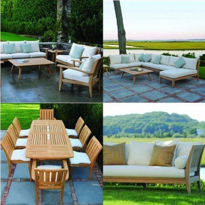 Kingsley Bate Ipanema Teak Seating and Dining Collection-Build Your Own Ensemble  by Kingsley Bate