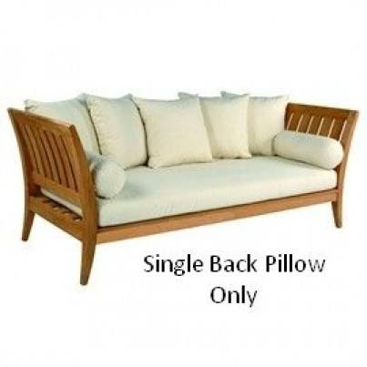 Single Back Pillow