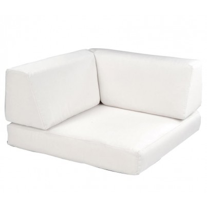 Kingsley Bate Naples Sectional Square Corner Chair Cushion  by Kingsley Bate