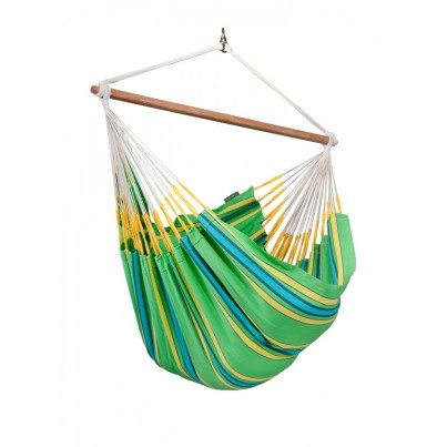 La Siesta Currambera Lounger Hammock Chair - Kiwi  by La Siesta