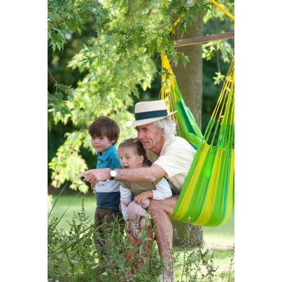 La Siesta Sonrisa Basic Hammock Chair - Lime  by La Siesta