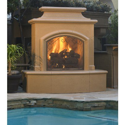 Mariposa Fireplace  by CGProducts