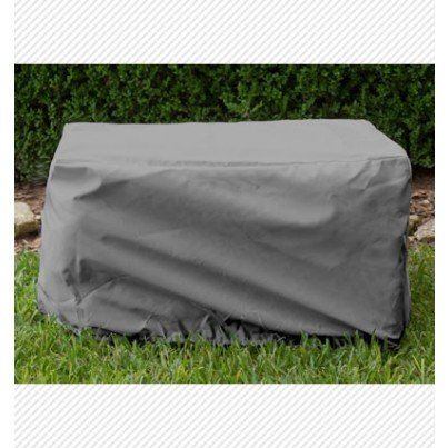 Ottoman/Small Table Cover - Charcoal  by Koveroos