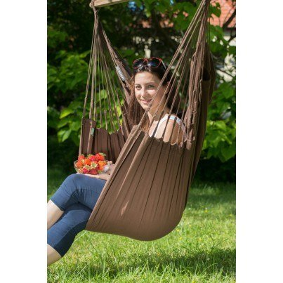 La Siesta Modesta Basic Hammock Chair - Arabica  by La Siesta