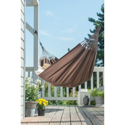 La Siesta Modesta Organic Cotton Single Classic Hammock - Arabica  by La Siesta