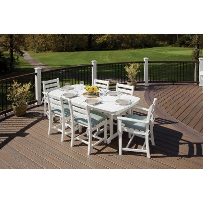 "Trex® Yacht Club 37"" x 72"" Rectangular Dining Table  by Trex Outdoor Furniture"