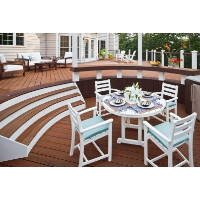 "Trex® Outdoor Furniture™ Monterey Bay Round 48"" Dining Table  by Trex Outdoor Furniture"