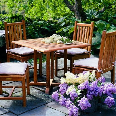 Kingsley Bate Evanston Teak Dining Collection - Build Your Own Ensemble  by Kingsley Bate