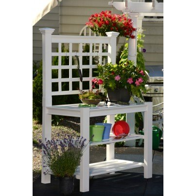 Burbank Potting Bench  by Frontera Furniture Company