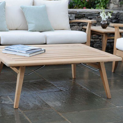 Kingsley Bate Ipanema Teak Rectangular Coffee Table  by Kingsley Bate