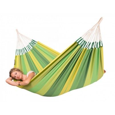 La Siesta Orquidea Cotton Single Classic Hammock - Jungle  by La Siesta