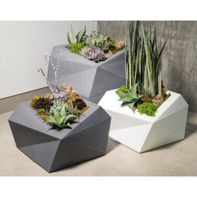 Origami Planter - Tall  by Frontera Furniture Company