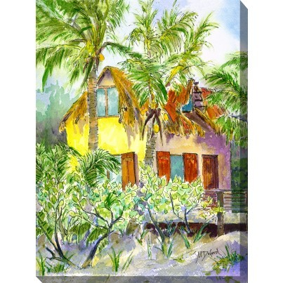 West of the Wind Outdoor Canvas Wall Art - Hideaway  by West of the Wind