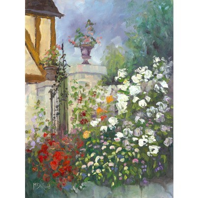 West of the Wind Outdoor Canvas Wall Art - Les Moulin  by West of the Wind