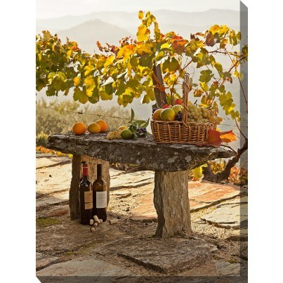 West of the Wind Outdoor Canvas Wall Art - Abundance  by West of the Wind
