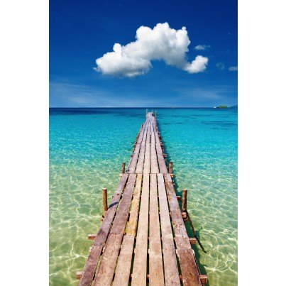 West of the Wind Outdoor Canvas Wall Art - Walk on Water  by West of the Wind