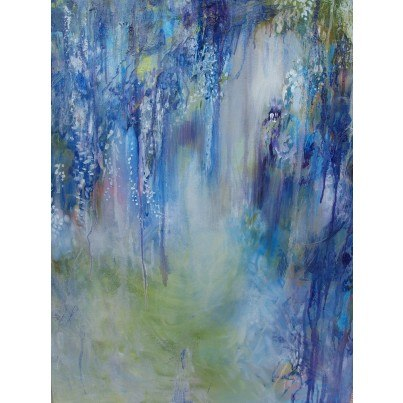 West of the Wind Outdoor Canvas Wall Art - Rhapsody in Blue  by West of the Wind