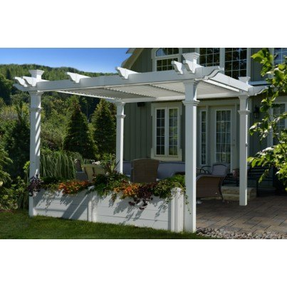 Pergola Garden Bed 10'  by Frontera Furniture Company