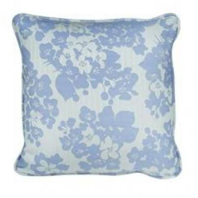 """18"""" Square Toss Pillow Shown in Hibiscus"""