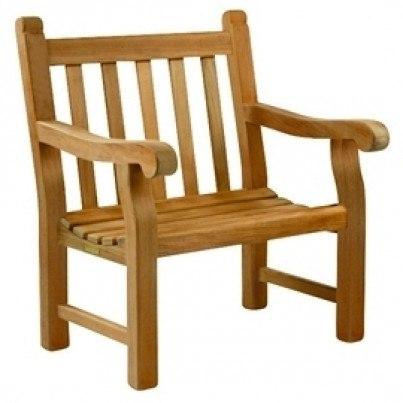 Kingsley Bate Hyde Park Garden Armchair Seat Cushion  by Kingsley Bate