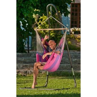 La Siesta Orquidea Basic Hammock Chair - Purple  by La Siesta