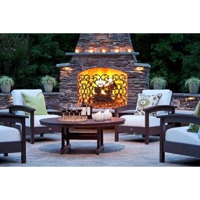 """Trex® Outdoor Furniture™ Cape Cod Round 48"""" Conversation Table  by Trex Outdoor Furniture"""