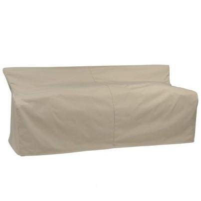 Kingsley Bate Paris Wicker Deep Seating Sofa Cover  by Kingsley Bate