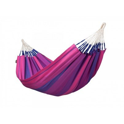 La Siesta Orquidea Cotton Single Classic Hammock - Purple  by La Siesta