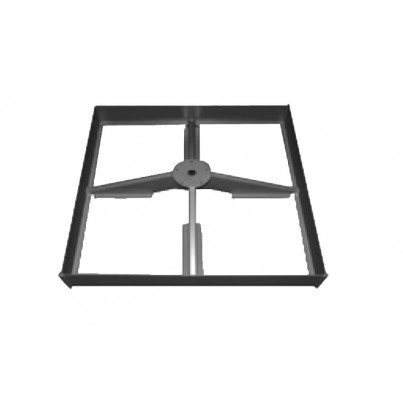Shademaker Steel Base Frame for Pavers  by Treasure Garden