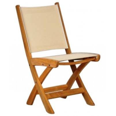 Kingsley Bate St. Tropez Teak Dining Side Chair (Folding)  by Kingsley Bate