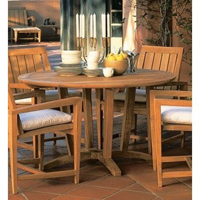 "Kingsley Bate Amalfi Teak Round Dining Table 50""  by Kingsley Bate"