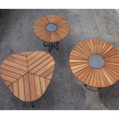 Bamboo Dining Table Collection - Build Your Own Ensemble  by Frontera Furniture Company