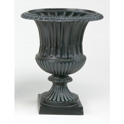 Three Coins Cast Venetian Cast Aluminum Large Urn  by Three Coins Cast