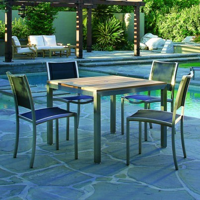 Tiburon Square Table with Tiburon Chairs
