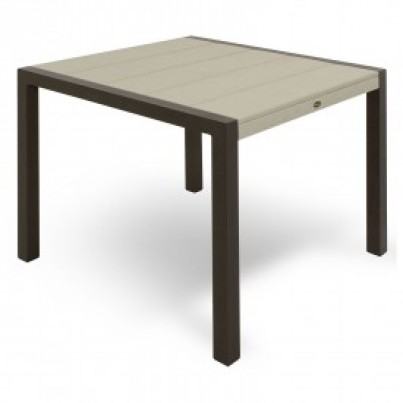 "Trex® Outdoor Furniture™ Surf City 36"" Square Dining Table  by Trex Outdoor Furniture"