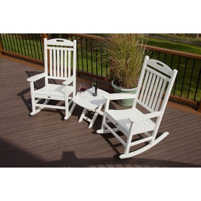 """Trex® Yacht Club 21"""" x 18"""" Side Table  by Trex Outdoor Furniture"""