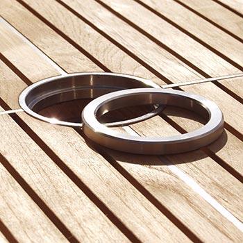 Kingsley Bate Table Umbrella Hole Reducer Ring