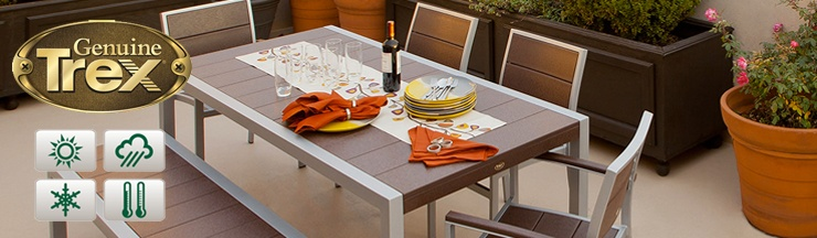 All Weather Resistance With A 20 Year Limited Warranty! Trex Outdoor  Furniture™ ...