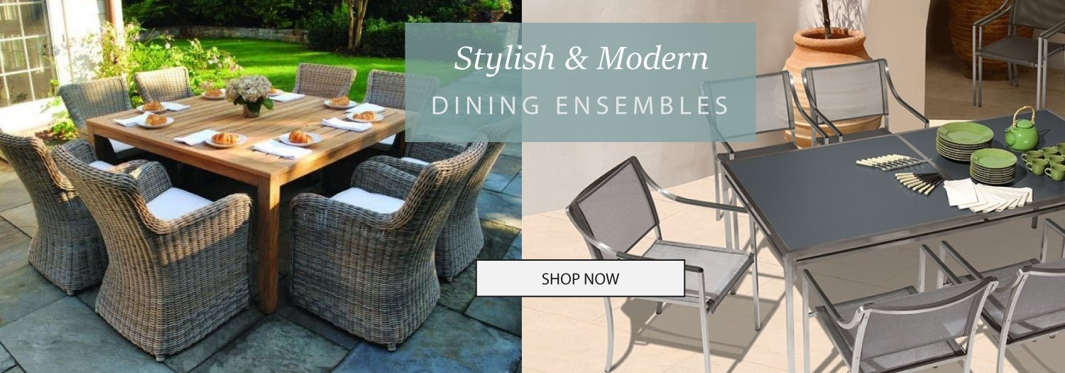 Outdoor Dining Ensembles