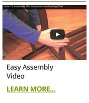 Easy Rocking Chair Assembly Video