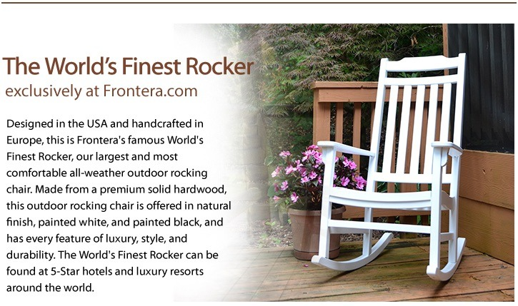 World's Finest Outdoor Rocking Chairs