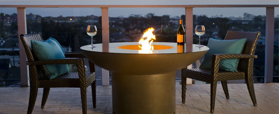fire pits and fire tables & Fire Pits u0026 Features: Choosing the perfect fire source for your ...